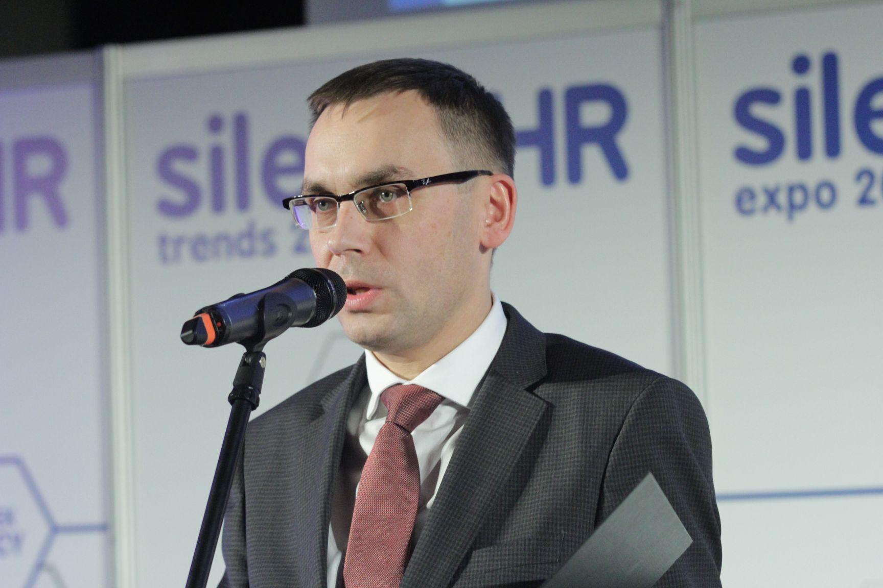 Wojciech Kuśpik - gospodarz konkursu Top Pracodawcy, prezesa Grupy PTWP i inicjatora Silesia HR Trends (fot.PTWP)