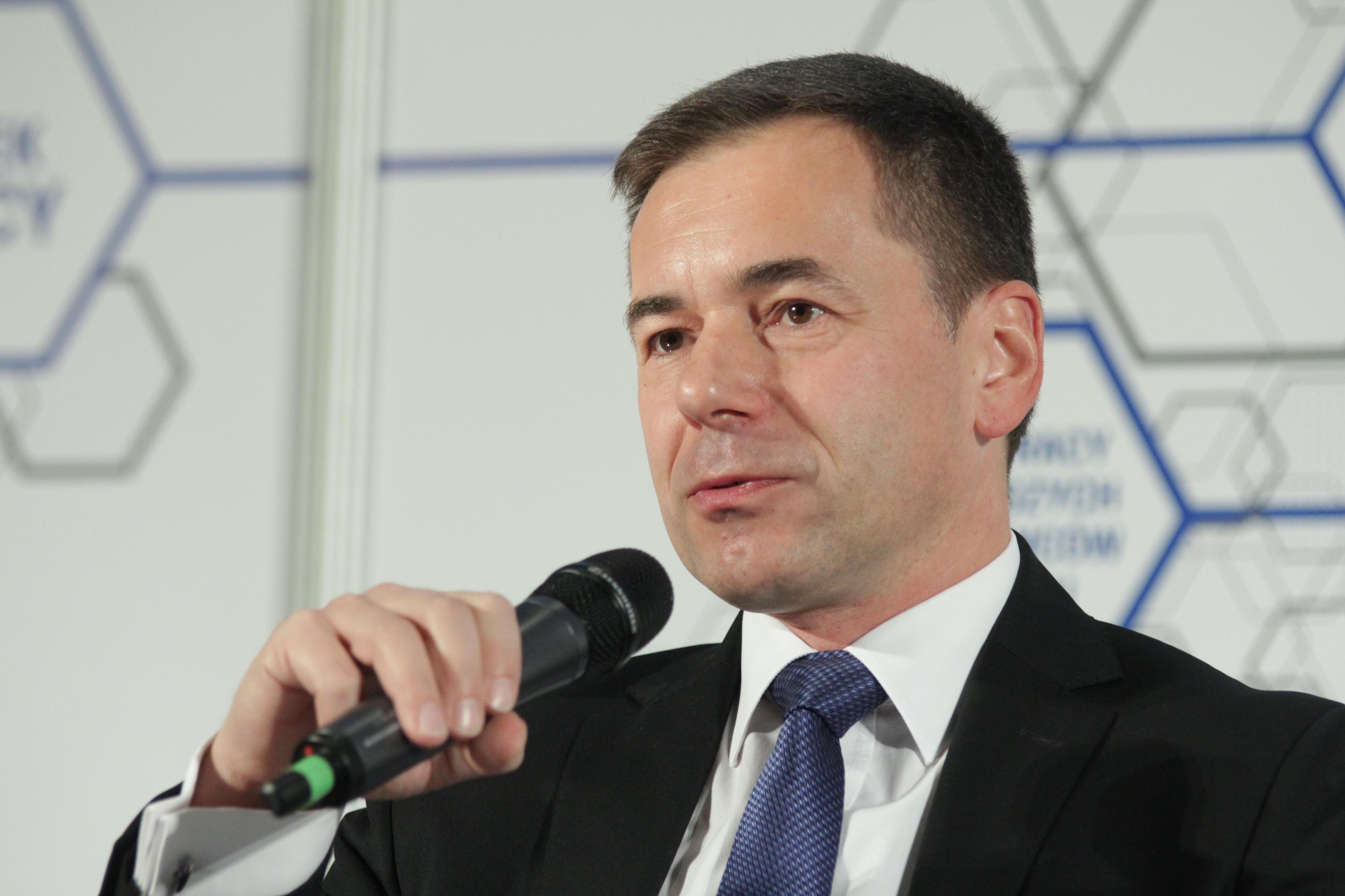 Marcin Nowak, dyrektor zarządzający Centrum Operacyjnym Capgemini w Katowicach (Fot.: PTWP)