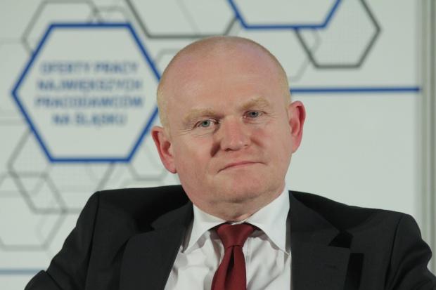 Piotr Janczyk, członek zarządu Elektrobudowy (fot.PTWP)