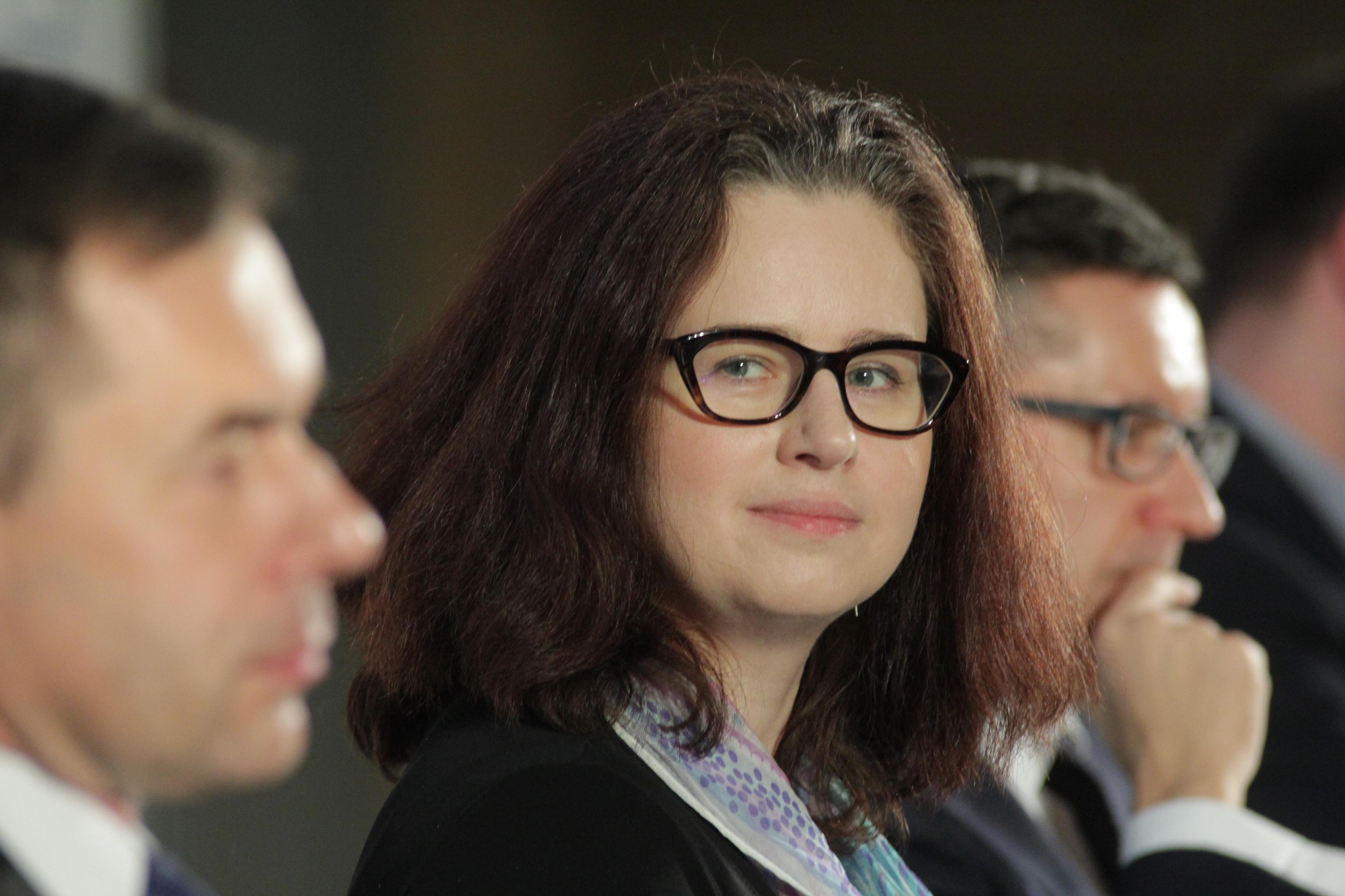 Magdalena Sweklej, zastępca dyrektora Departamentu Rynku Pracy z Ministerstwa Rodziny, Pracy i Polityki Społecznej (Fot. PTWP)