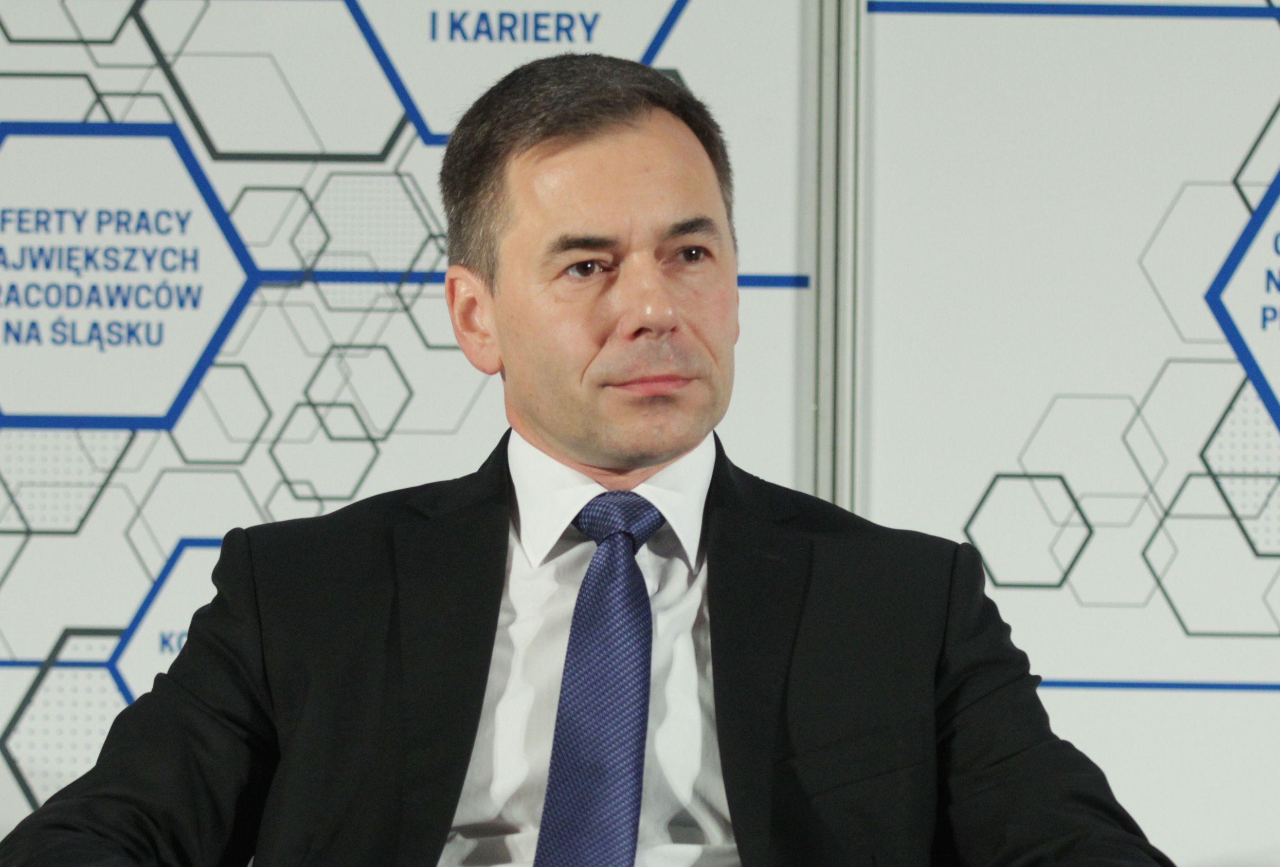 Marcin Nowak, dyrektor zarządzający Centrum Operacyjnym Capgemini Polska w Katowicach, członek założyciel ABSL (Fot. PTWP)