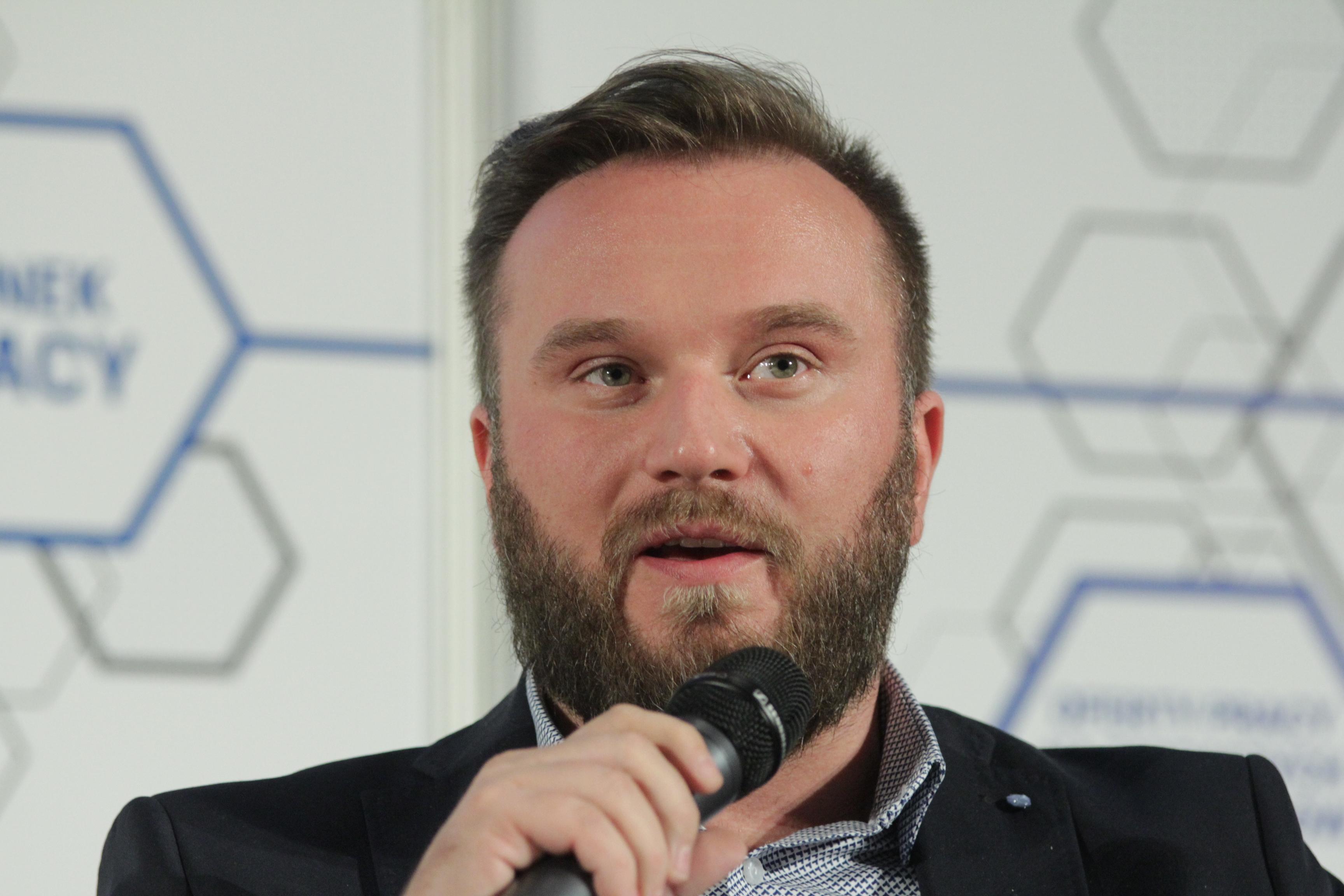 Adam Wąsik, członek zarządu GoldenLine (Fot. PTWP)