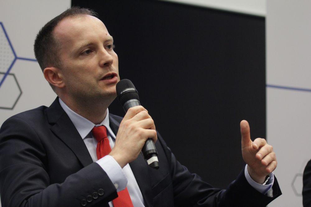 Michał Paprocki, prezes ING Services Polska. (fot. PTWP)