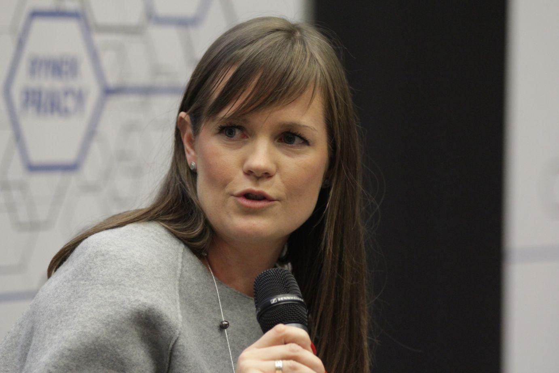 Aleksandra Kandzia-Ulrych, wiceprezes Fundacja Giesche i firmy Porcelana Śląska (fot.PTWP)
