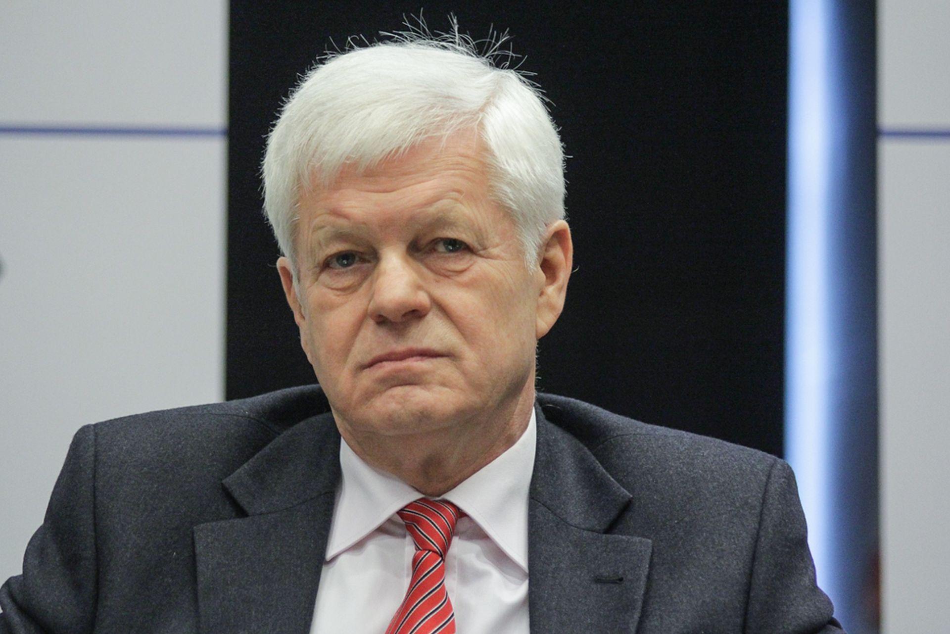 Jacek Kwiatkowski, prezes zarządu Zakładu Doskonalenia Zawodowego w Katowicach.Fot. Michał Oleksy / PTWP