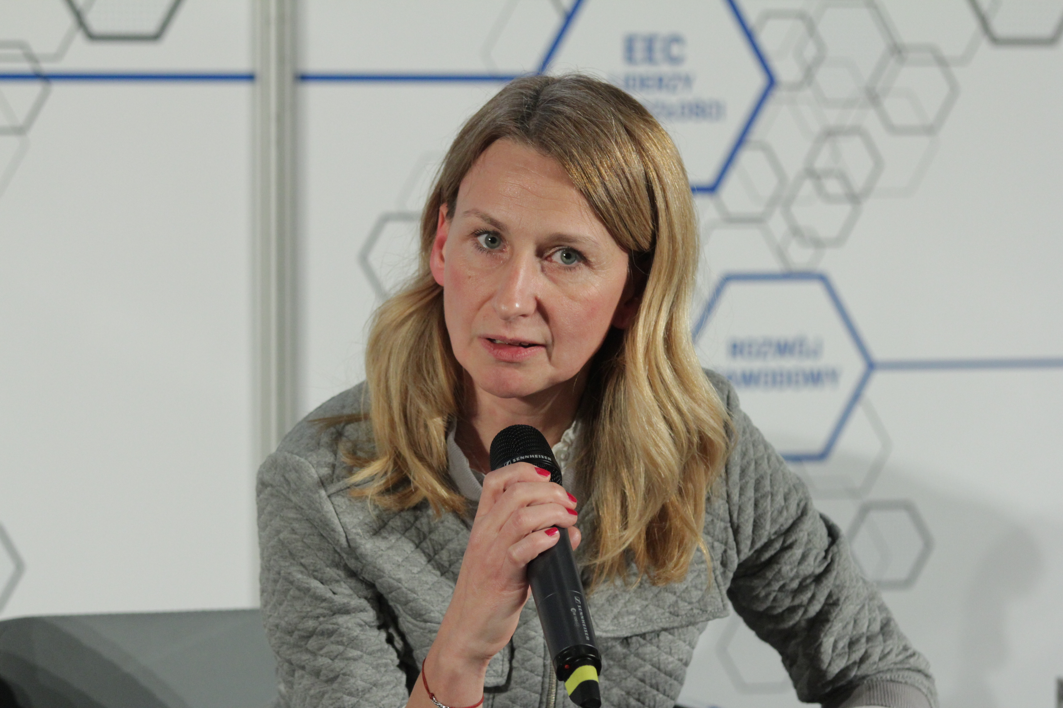 Katarzyna Konarska-Błaszczyk, wiceprezes Landster Business Development Center, współzałożyciel klastra Silesia Automotive (Fot. PTWP)