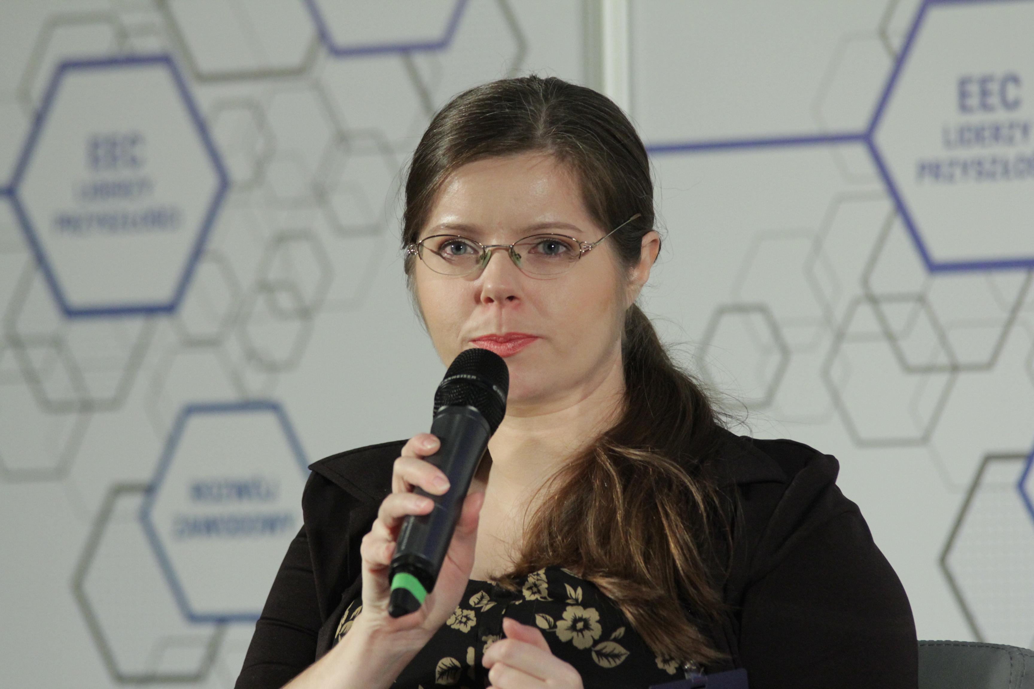Alicja Arndt, menedżer ds. edukacji i wsparcia klientów GoldenLine (Fot PTWP)