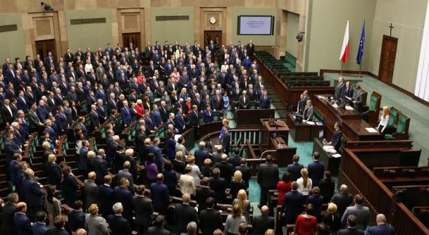 Kopalnia Rudna, wstrząs: Minuta ciszy dla górników w Sejmie