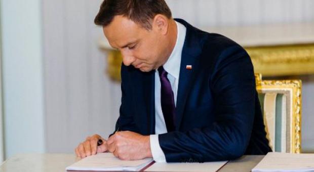 Prezydent podpisał ustawę dot. bezpieczeństwa i higieny służby