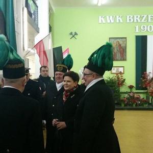 Górnicy świętują Barbórkę. Z premier Beatą Szydło