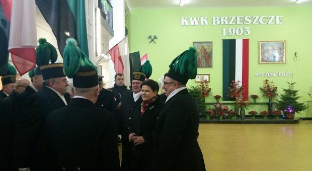 Premier świętowała Barbórkę wspólnie z górnikami KWK Brzeszcze