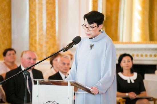 Wanda Zwinogrodzka, wiceminister w resorcie kultury i dziedzictwa narodowego. (fot. MKiDN)