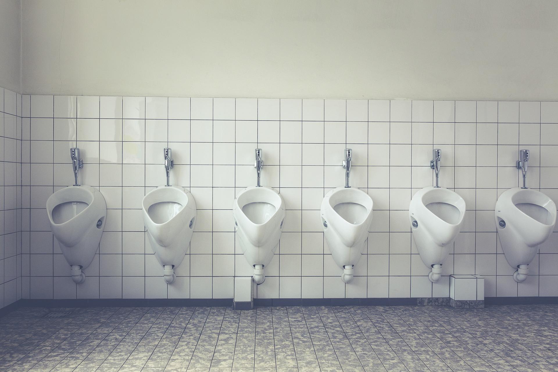 Niepokojący jest stan czystości toalet w biurach (fot.pixabay)