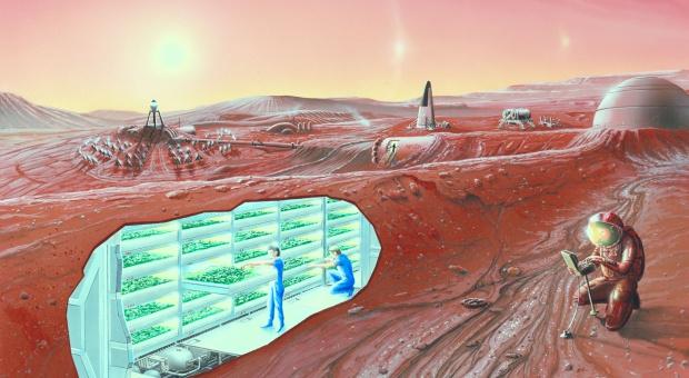Polscy naukowcy mają pomysł na kolonizację Marsa