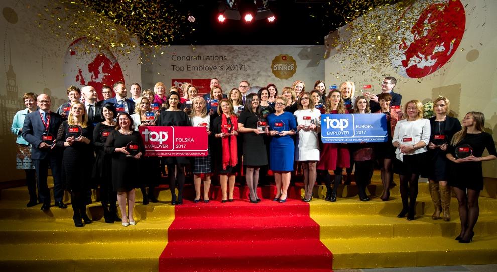 Top Employers Poland 2017: Oto najlepsi pracodawcy w Polsce