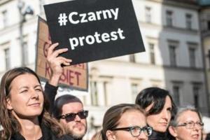Zapadła decyzja w sprawie nauczycielki popierającej czarny protest