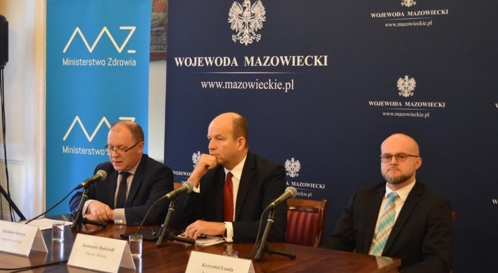 Podwyżki dla personelu medycznego: Konstanty Radziwiłł nie może się zgodzić na propozycję związków