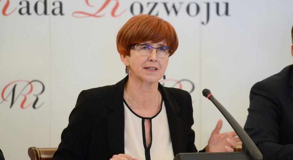 Elżbieta Rafalska: Kobiety w swoich oczekiwaniach płacowych powinny być odważniejsze