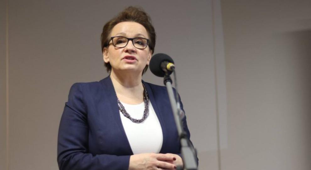 Anna Zalewska: W kwietniu harmonogram podwyżek dla nauczycieli