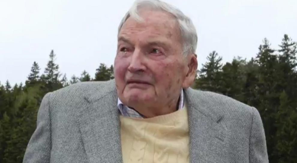 Zmarł David Rockefeller senior rodu miliarderów