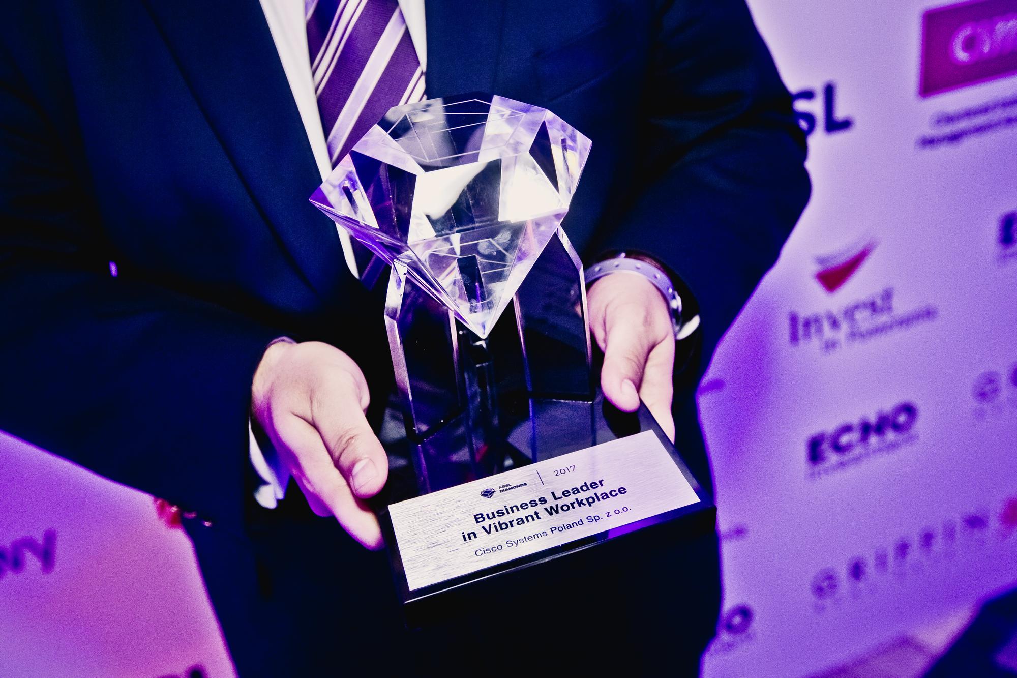 Cisco Systems wygrało w kategorii Business Leader in Vibrant Workplace (Fot. mat. pras.)