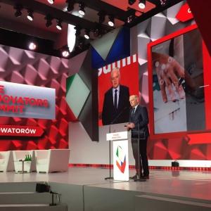Jarosław Gowin: Innowacyjność to gra zespołowa