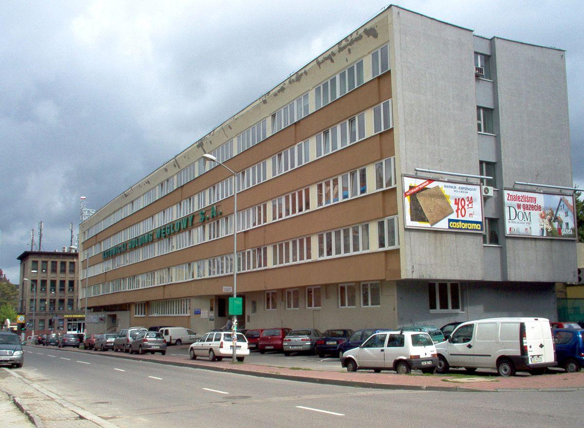 Siedziba Katowickiego Holdingu Węglowego (fot.wikipedia.org)