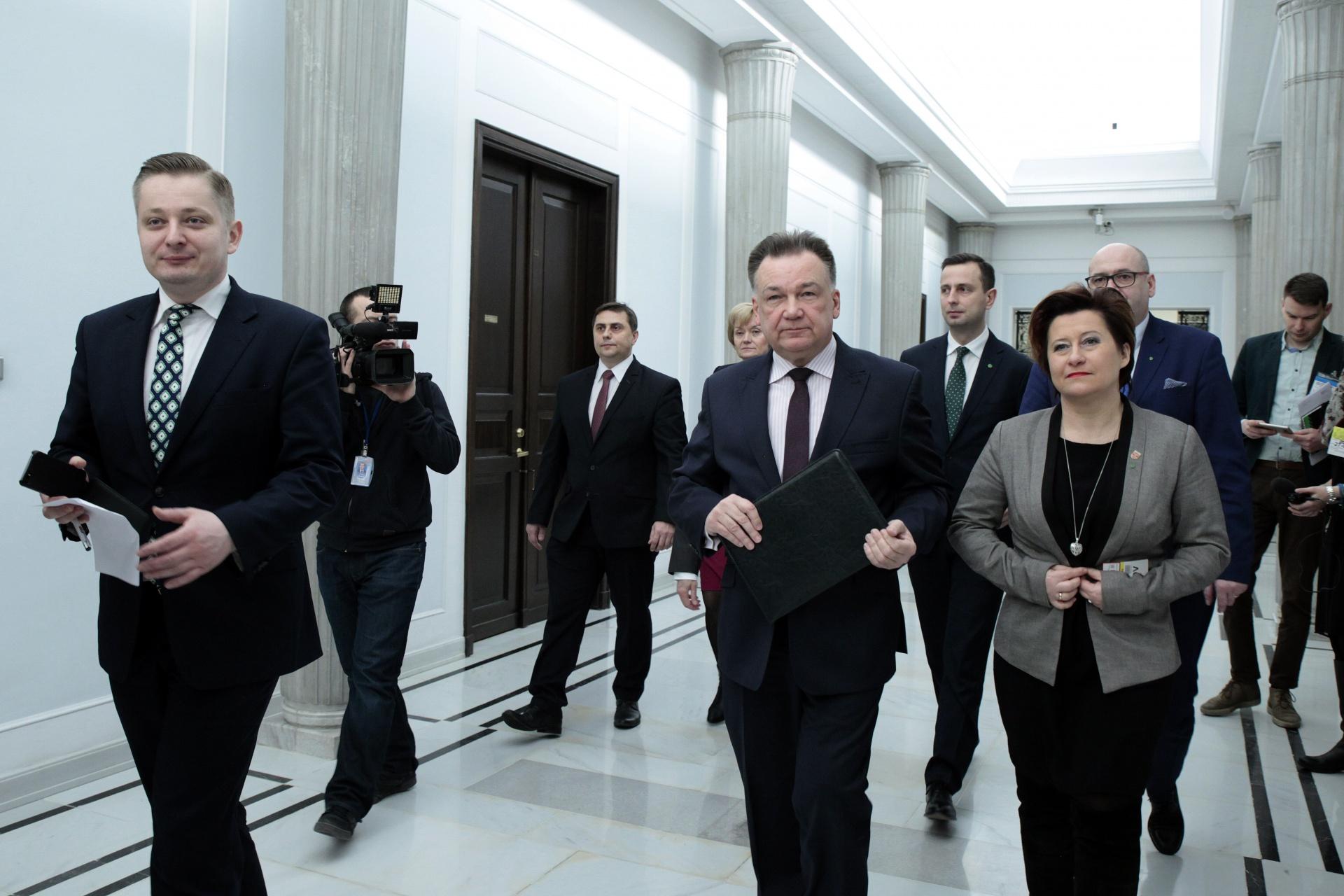 Adam Struzik w Sejmie.