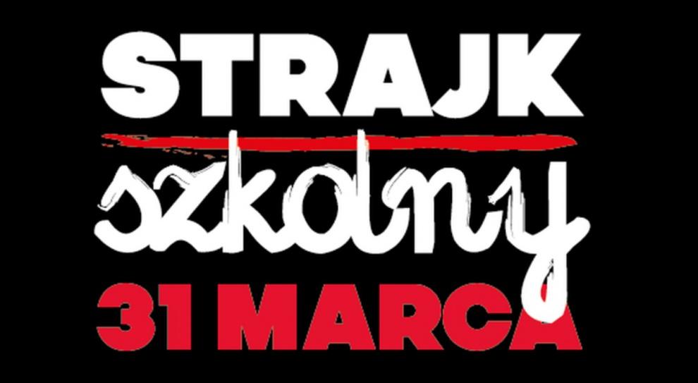 Strajk w szkołach Nauczyciele i pracownicy oświaty z całej Polski strajkują