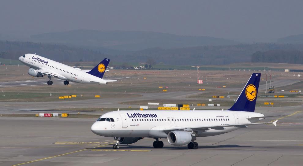 Lufthansa odwołuje 1 300 lotów z powodu strajku personelu