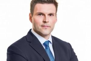 Łukasz Duczkowski senior vice president w Griffin Real Estate
