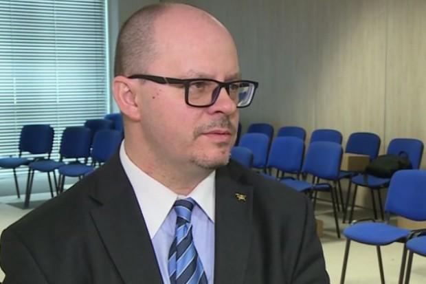 Przemysław Sypniewski, prezes zarządu Poczty Polskiej (fot.newseria)
