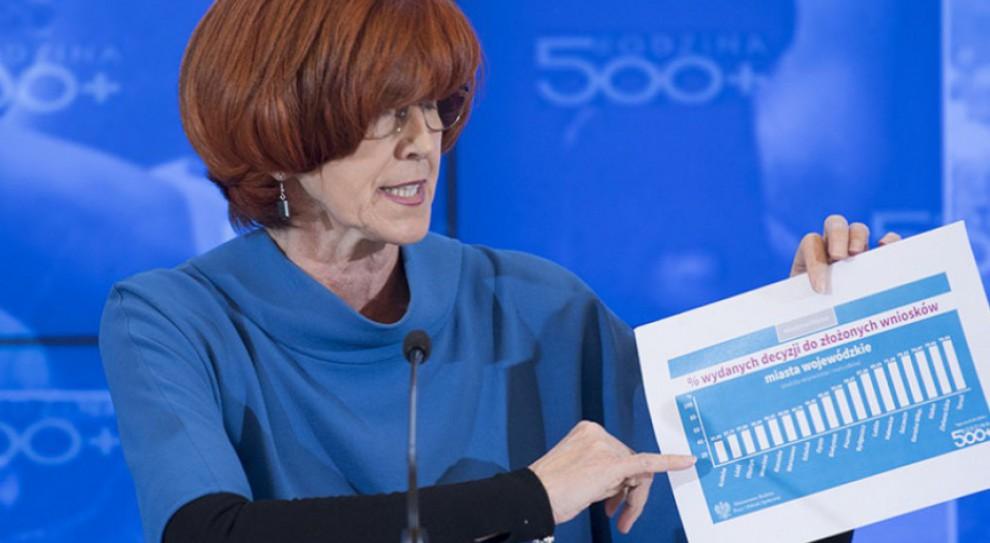 Elżbieta Rafalska: Dzięki 500 plus rodziny stać na więcej