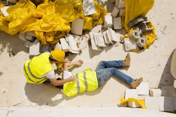 Blisko 3,8 mln pracowników jest szczególnie narażonych na wypadki przy pracy