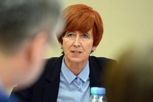 Elżbieta Rafalska: Na koniec roku bezrobocie wyniesie 7 proc.