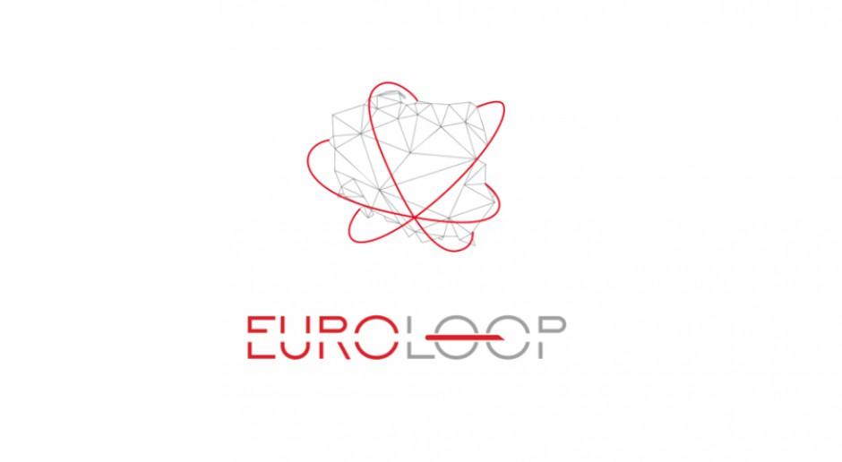 Polski start-up już rozwija skrzydła i szuka wsparcia, nie tylko w kraju ale i za granicą, Grafika: Logo euroLoop, źródło: materiały prasowe/euroloop.tech