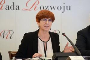 Elżbieta Rafalska: Sytuacja na rynku pracy znakomita