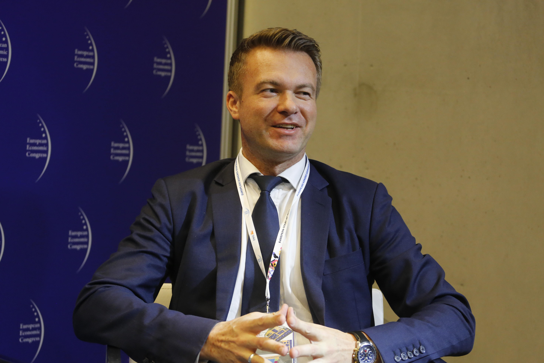 Jarosław Grzywiński, p.o. prezesa Giełdy Papierów Wartościowych uważa, że benchmarki podatkowe to jest bardzo dobra droga. Fot. PTWP