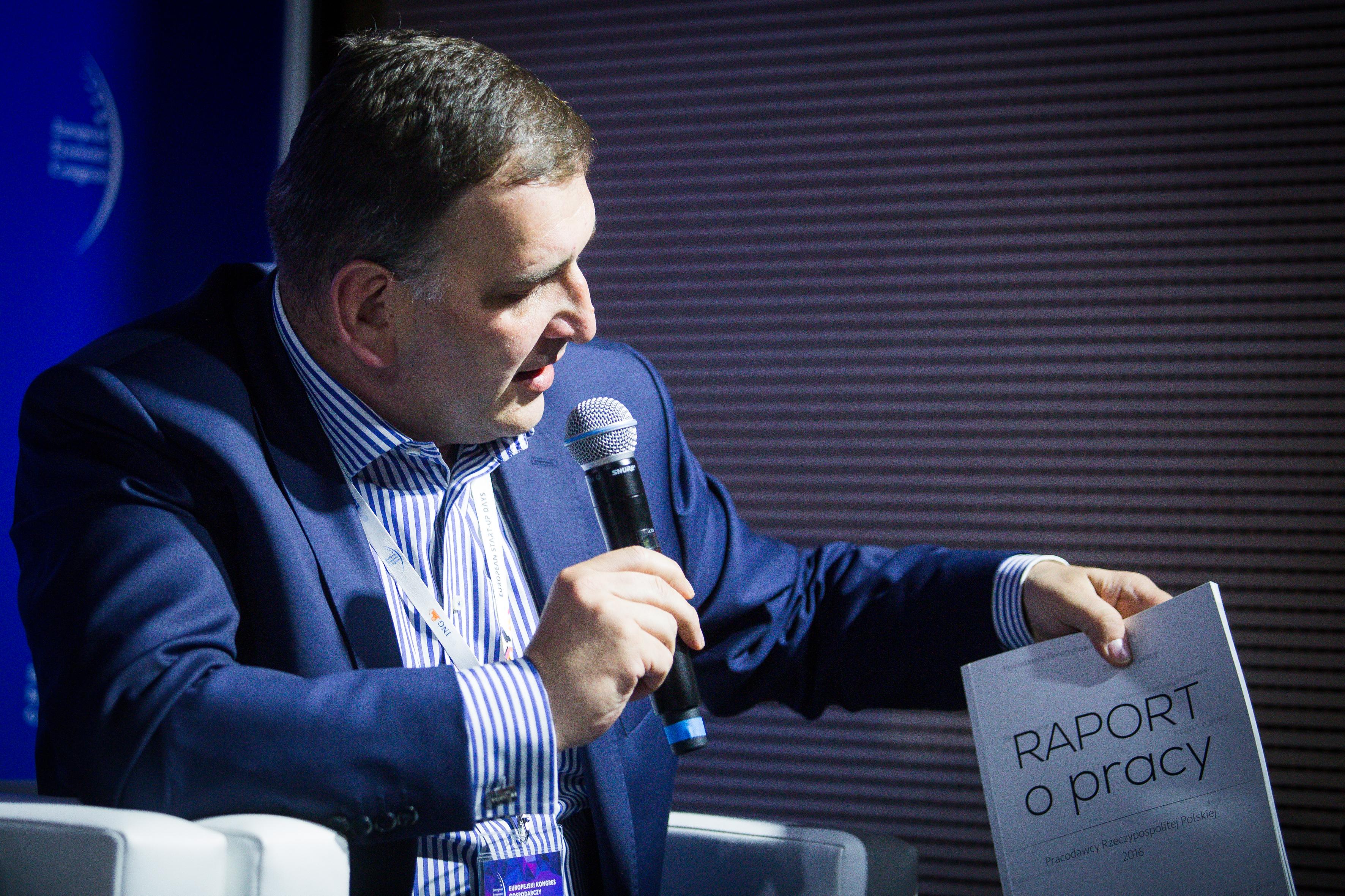 Dzisiaj można kupić każdą maszynę czy sprzęt, ale czynnik ludzki jest czymś, co decyduje o kondycji firmy oraz daje jej przewagę nad konkurentami – podkreśla Rafał Baniak, wiceprezydent Pracodawców RP.