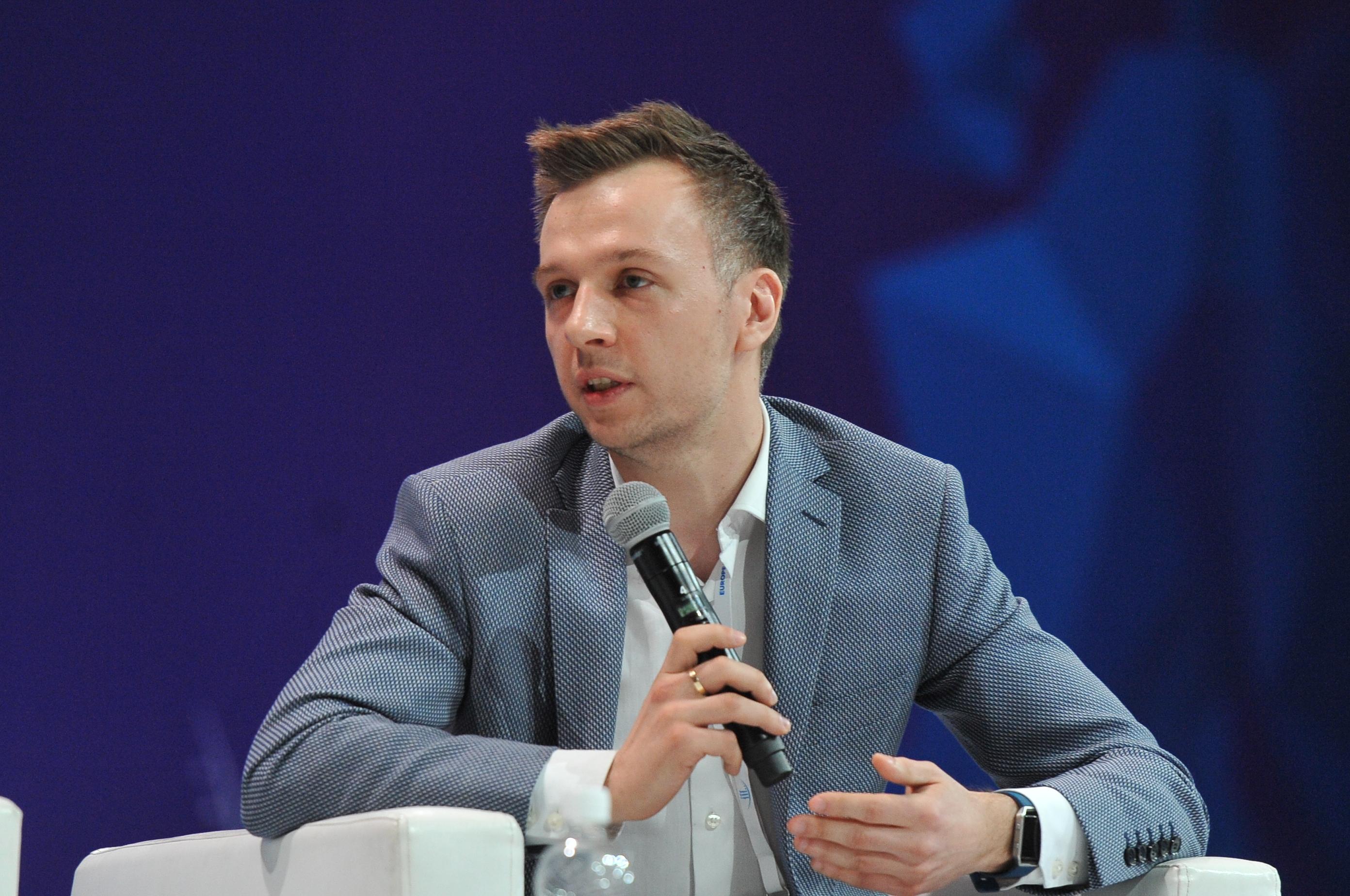 Marcin Franc z Photonu (Fot. PTWP)