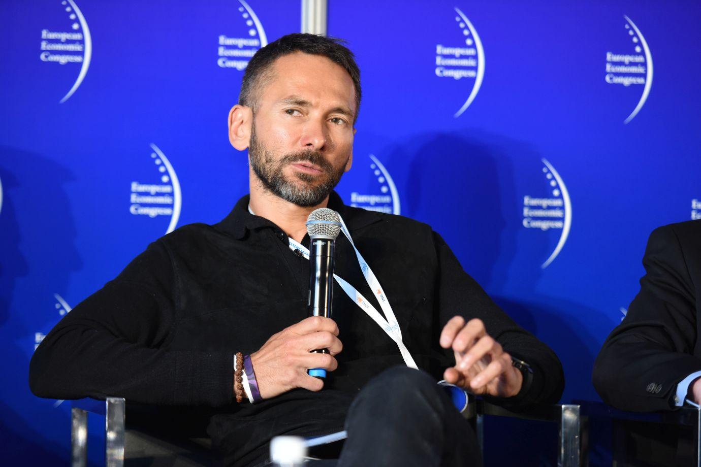 Prezes MCI Capital Tomasz Czechowicz (Fot.: PTWP)