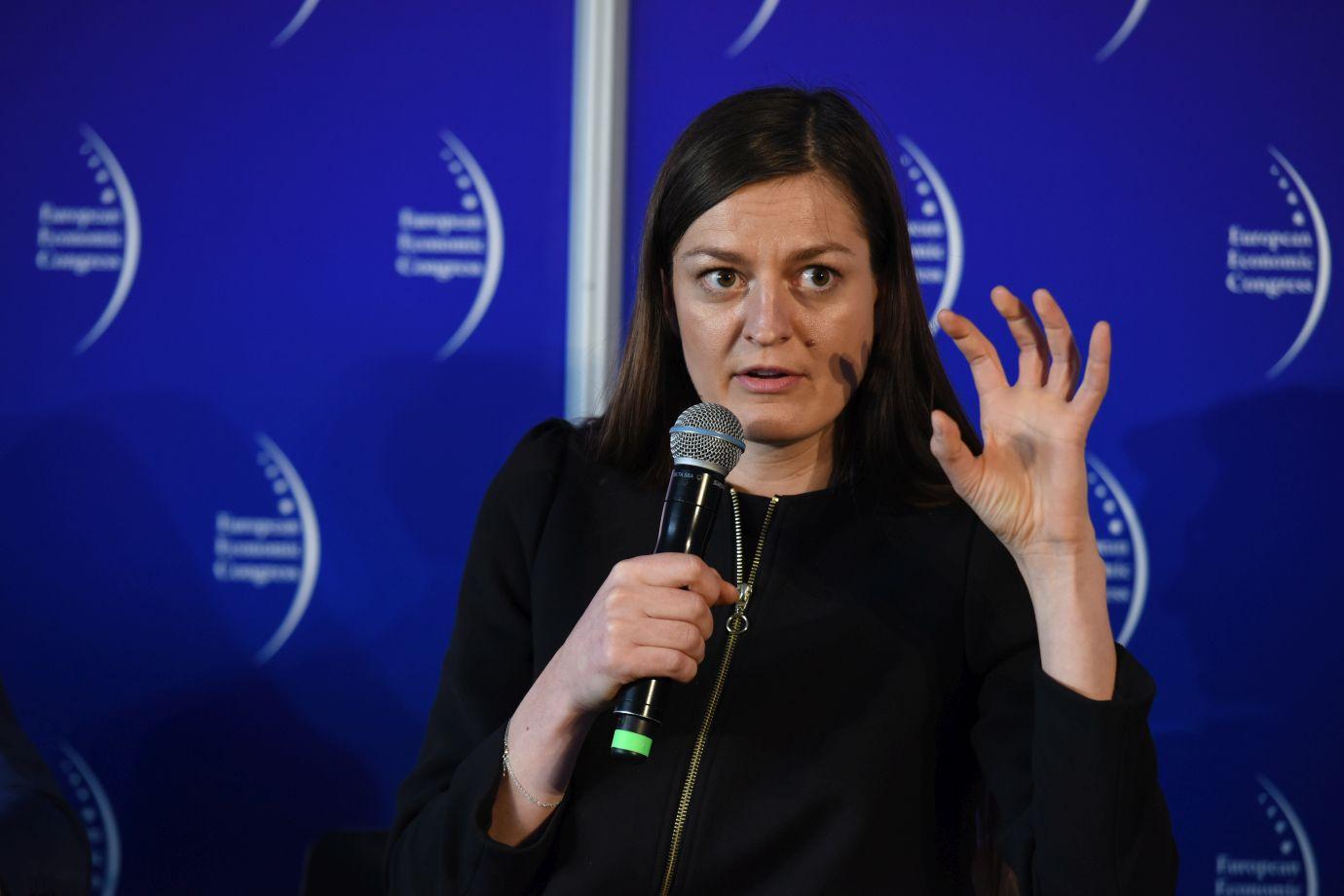 Eliza Kruczkowska, dyrektor ds. rozwoju innowacji, Polskiego Funduszu Rozwoju (Fot.: PTWP)