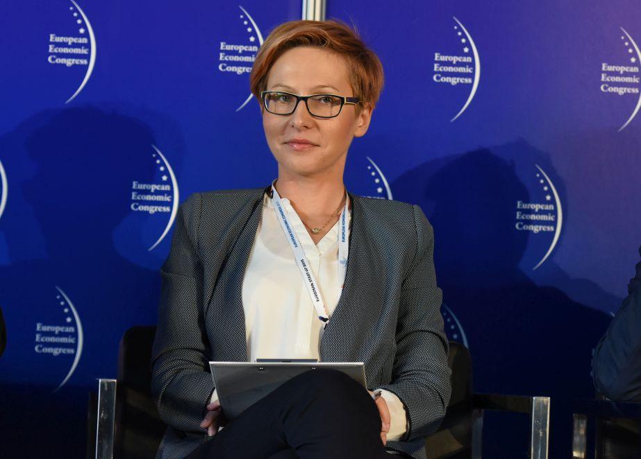 Agnieszka Sygitowicz, wiceprezes Łódzkiej Specjalnej Strefy Ekonomicznej (Fot.: PTWP)