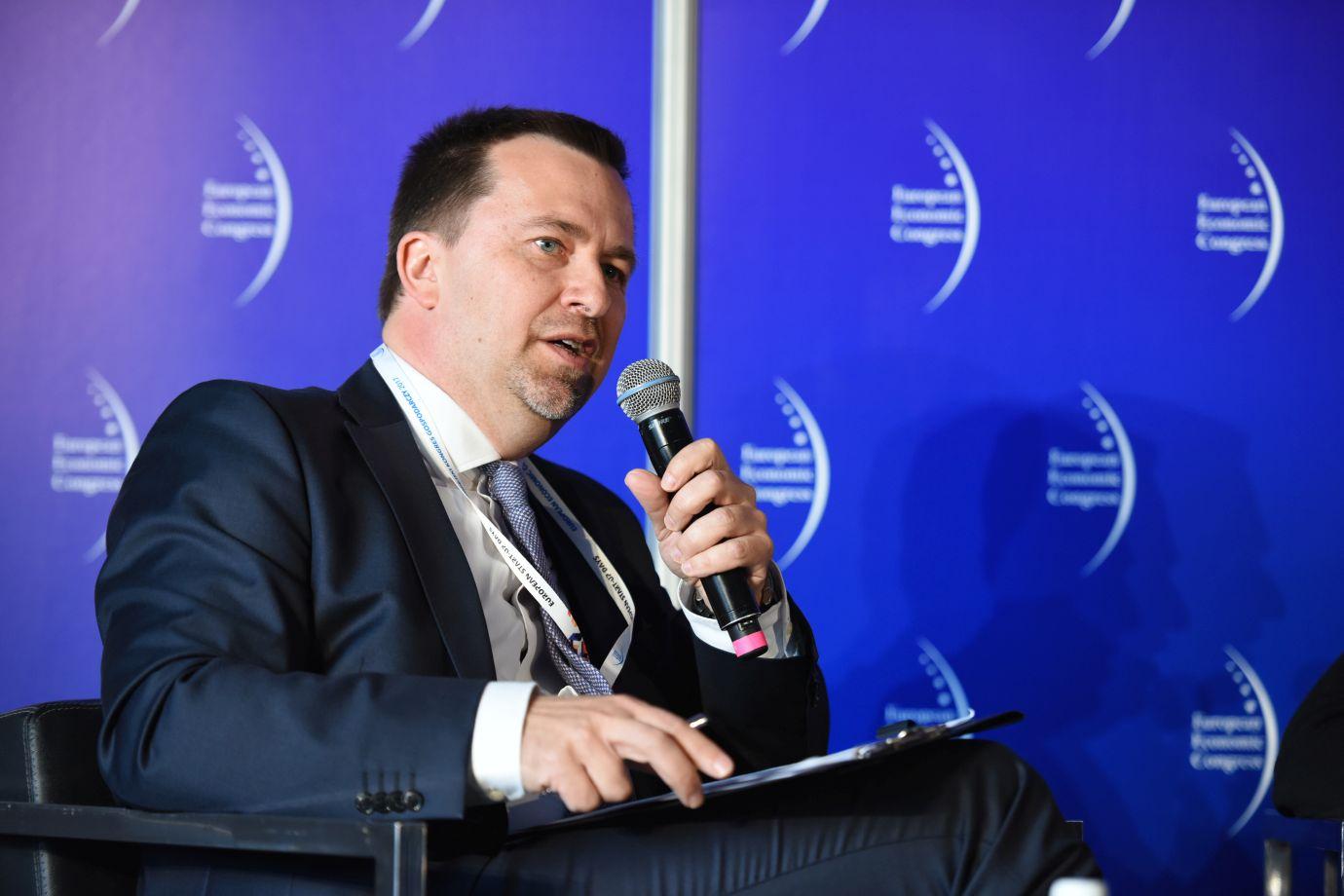 Łukasz Korycki, zastępca redaktora naczelnego portalu Puls Biznesu (Fot.: PTWP)