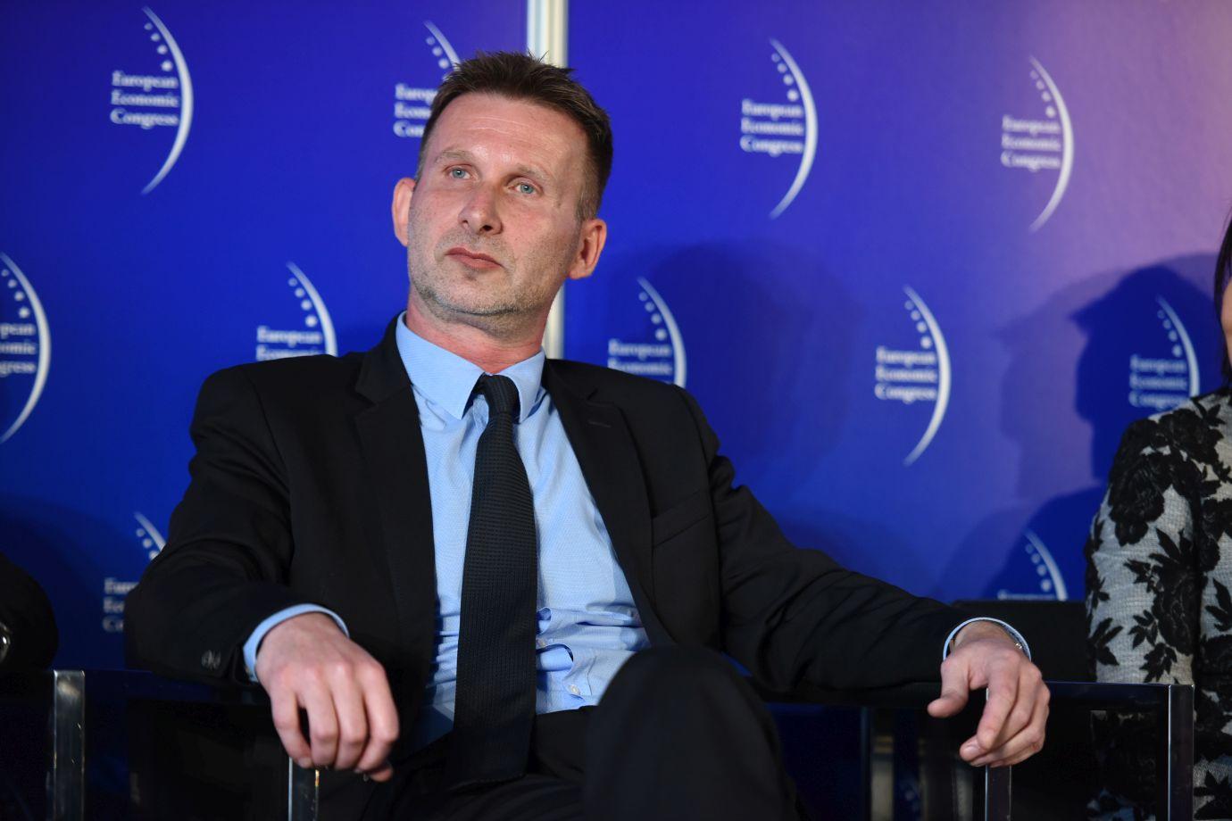 Wiceprzewodniczący rady nadzorczej Work Service Tomasz Hanczarek (Fot.: PTWP)