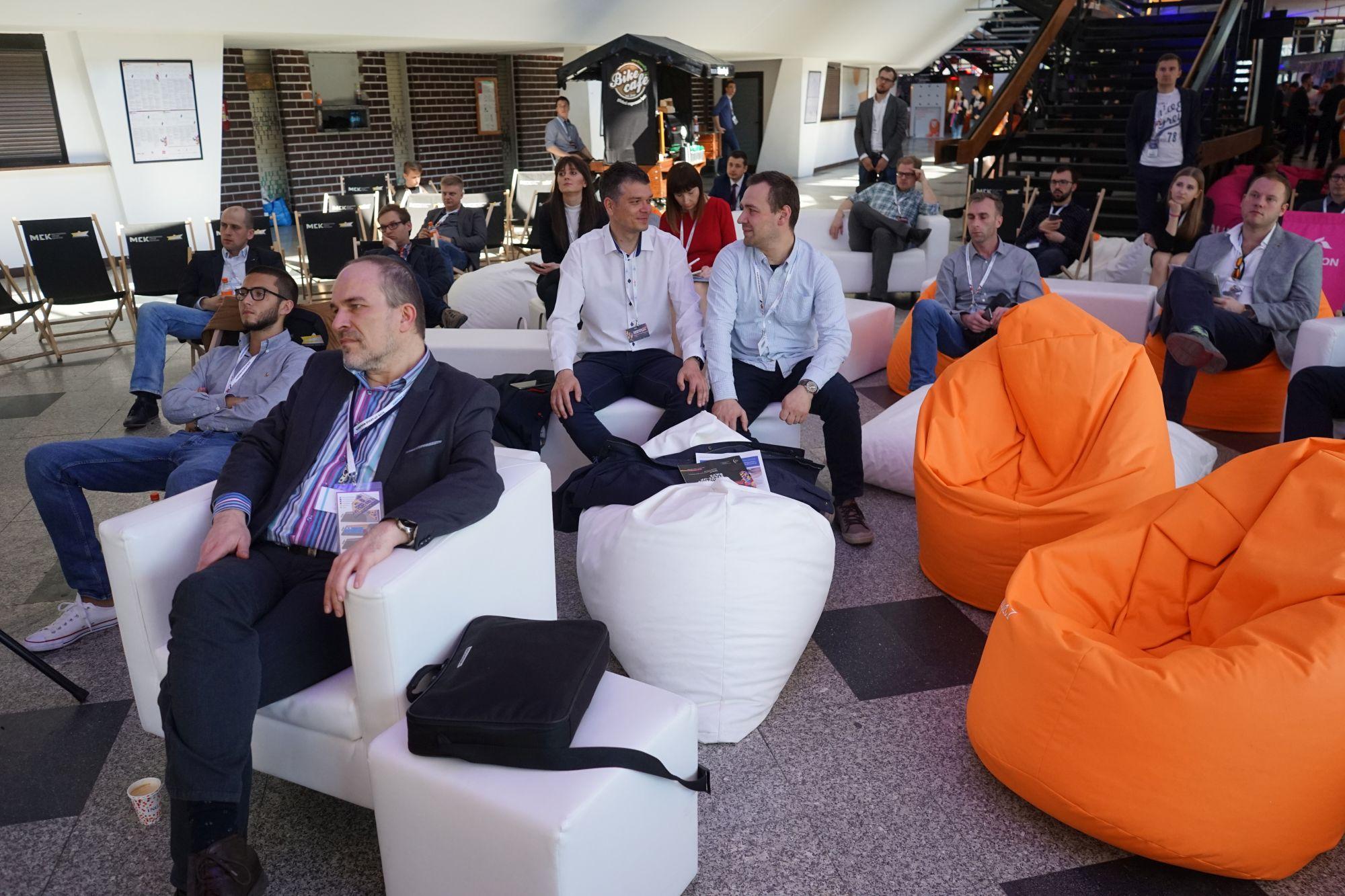 Konrad Pawlus wystąpił podczas European Start-Up Days. (Fot. PTWP)