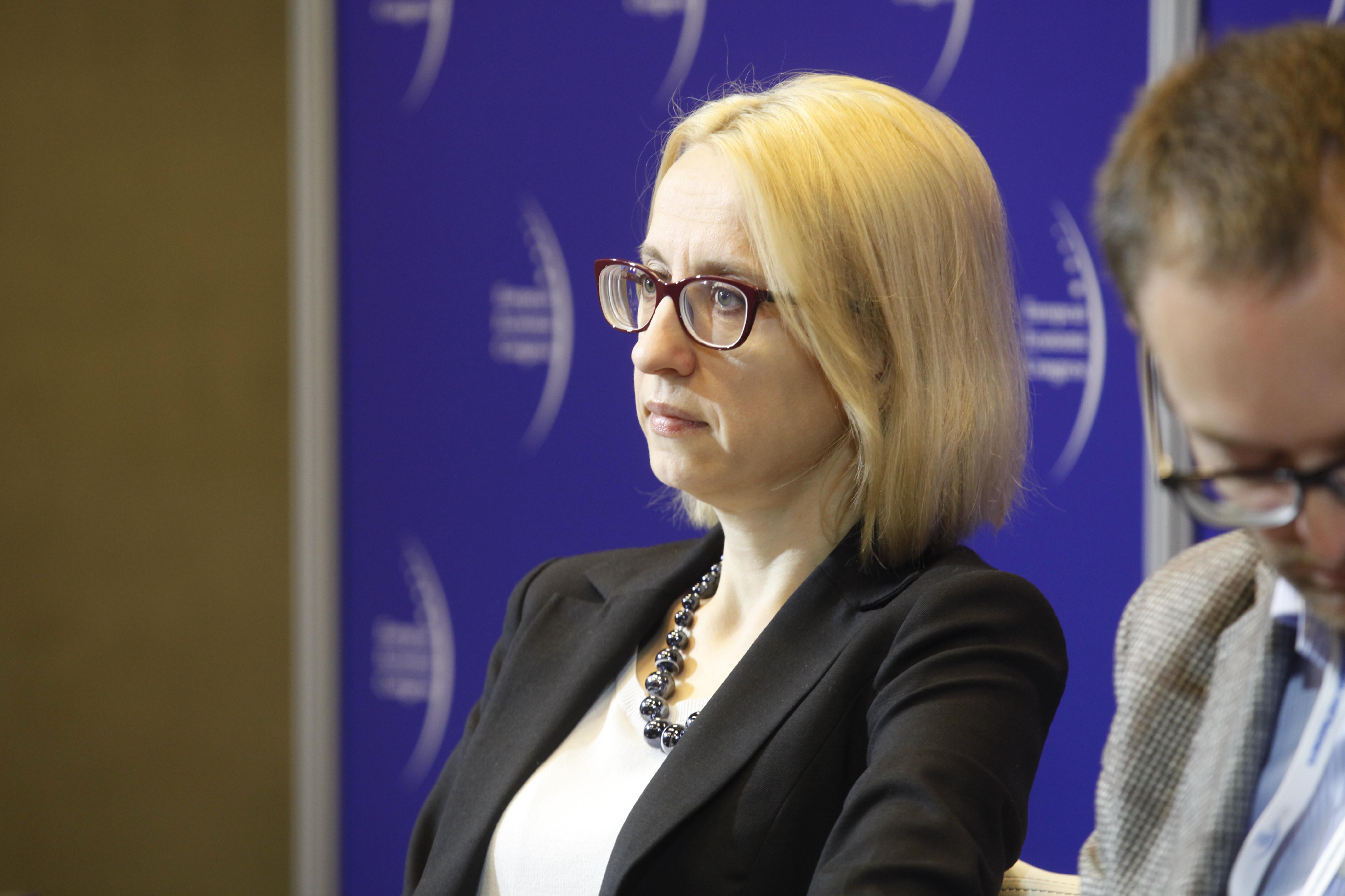 Dr hab. Teresa Czerwińska, podsekretarz stanu w Ministerstwie Nauki i Szkolnictwa Wyższego. (fot. PTWP)