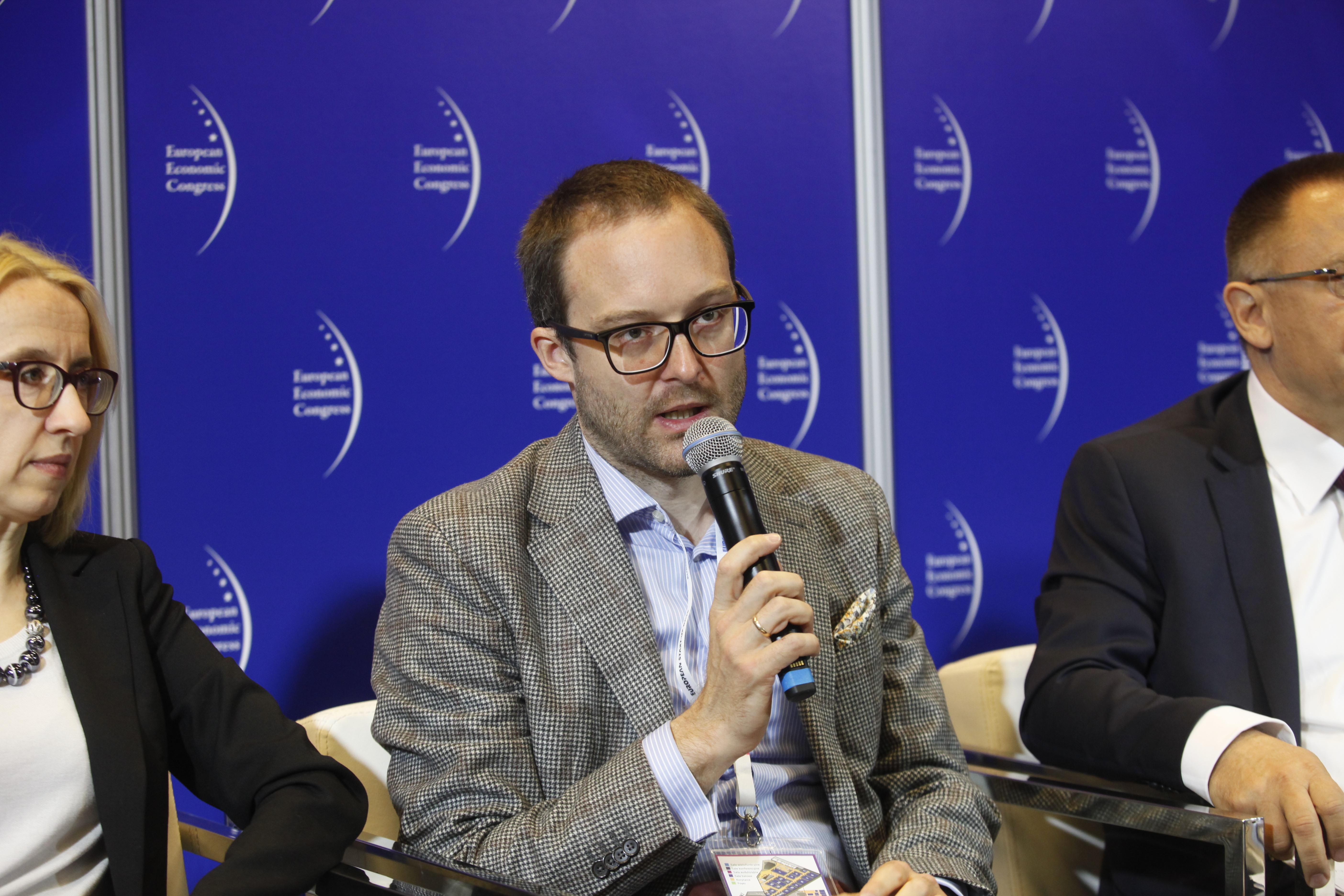 Dr Marek Dietl, doradca prezydenta RP, wykładowca na SGH oraz ekspert w obszarze gospodarki w Instytucie Sobieskiego. (fot. PTWP)