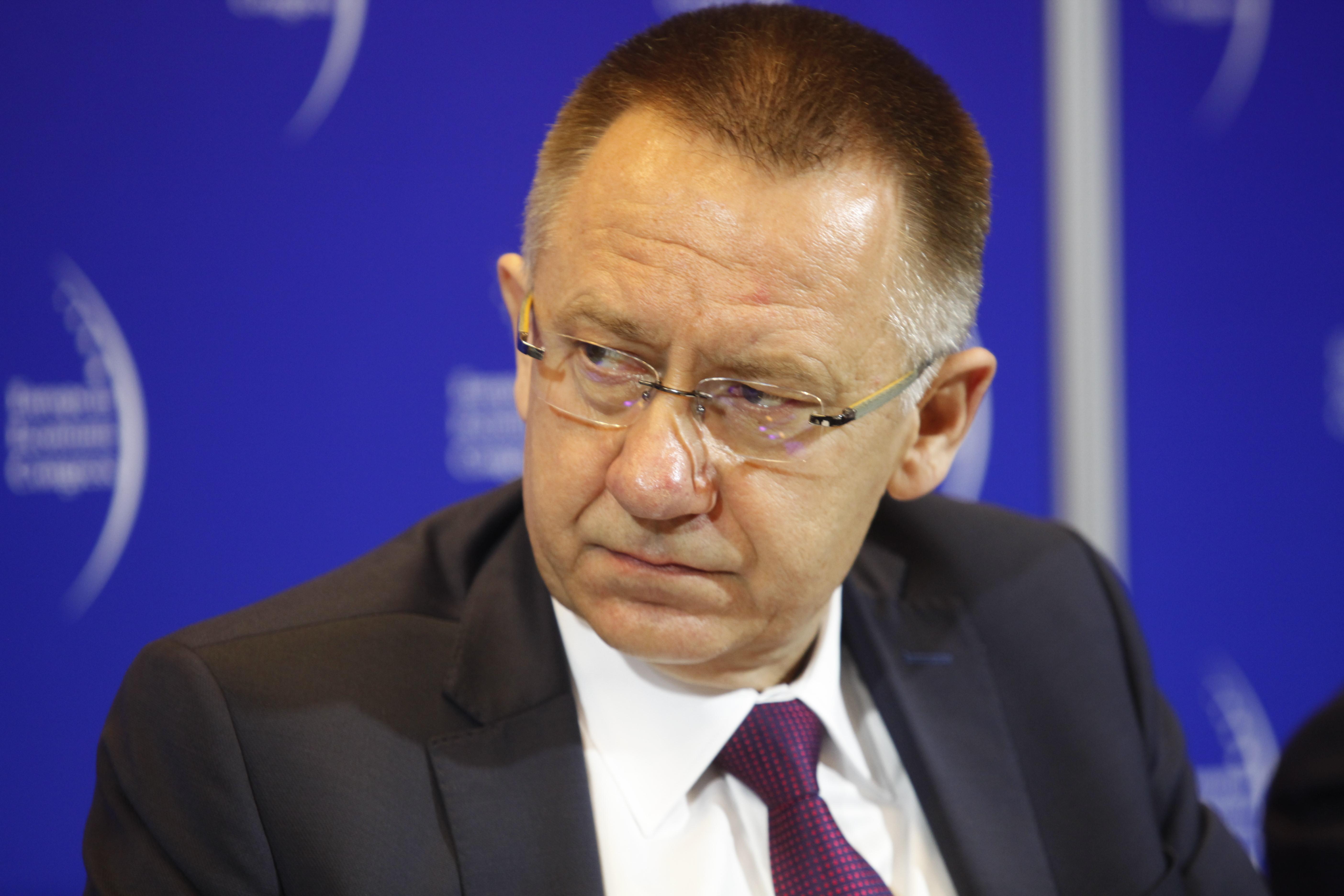 Arkadiusz Hołda, założyciel-kanclerz Wyższej Szkoły Technicznej w Katowicach. (fot.PTWP)