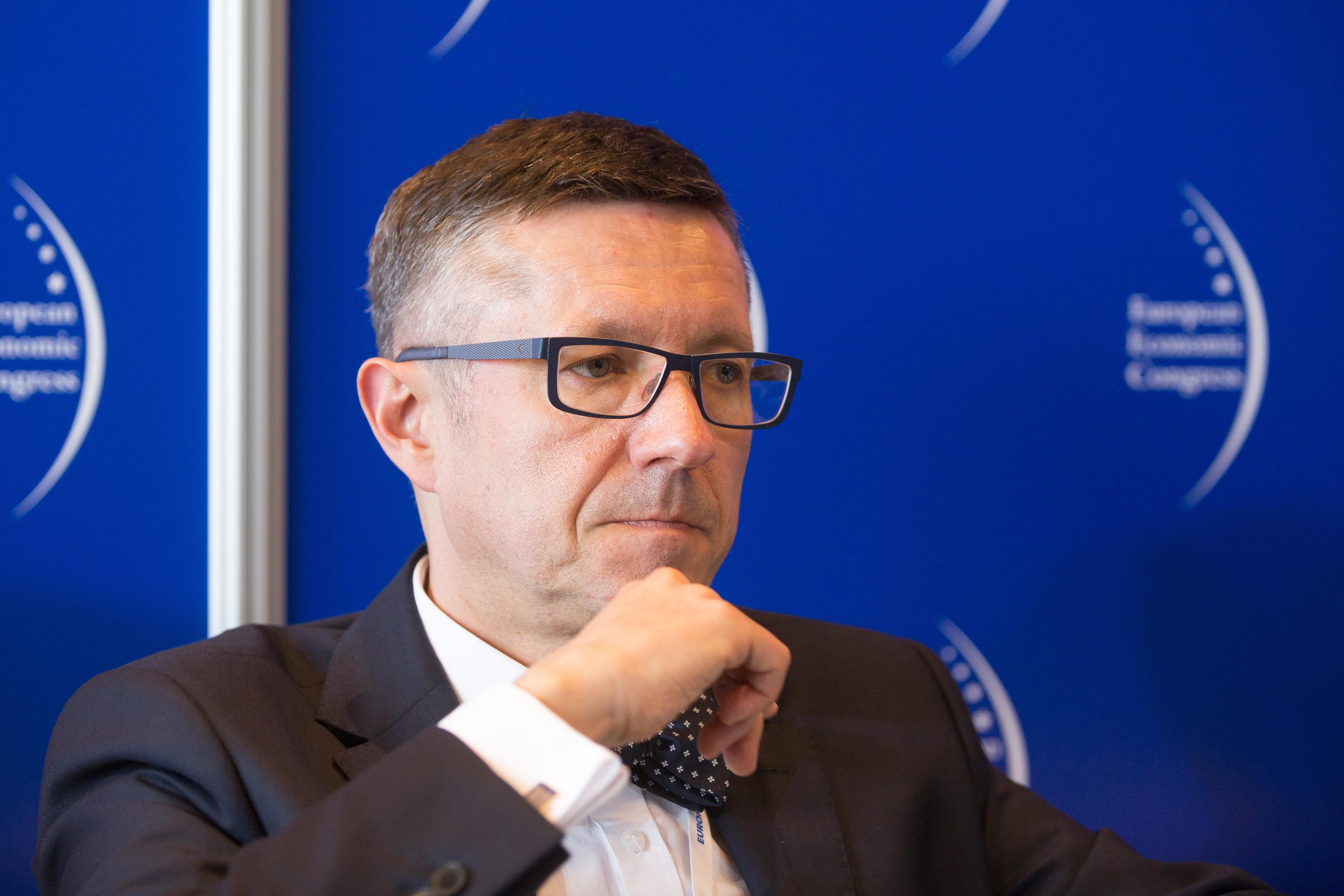 prof. Robert Tomanek, rektor Uniwersytetu Ekonomicznego w Katowicach (fot.PTWP)